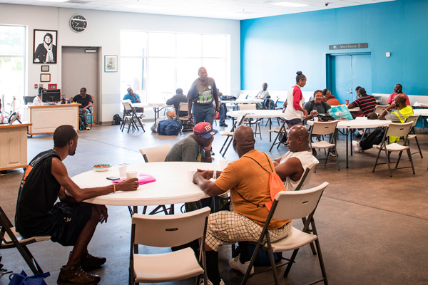 Interactive Resource Center Expand Classes for Homeless